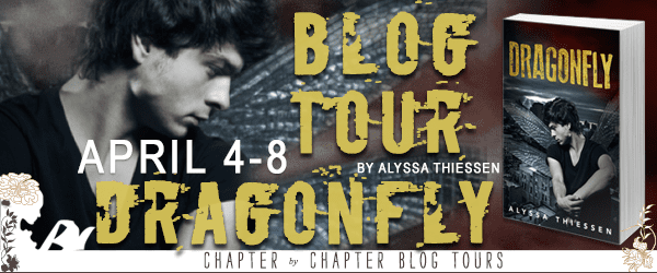 Dragonfly blog tour via Chapter by Chapter Blog Tours
