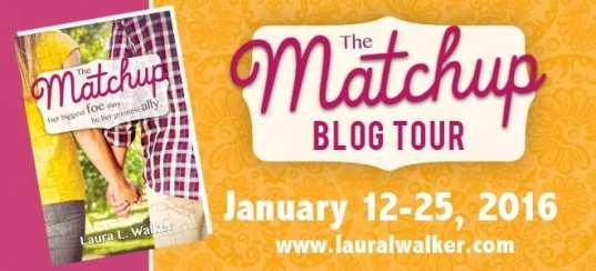The Match-Up blog tour via Cedar Fort Publishing & Media.