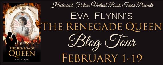The Renegade Queen blog tour via HFVBTs.