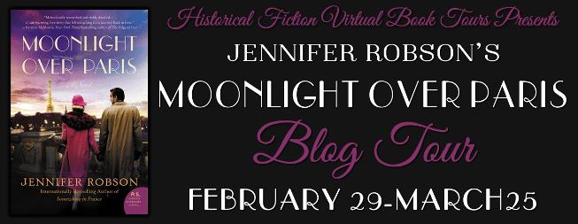 Moonlight Over Paris blog tour via HFVBTs.