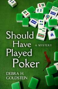 "Book Review | ""Should Have Played Poker"" by Debra H. Goldstein with an interview about writing #CosyMysteries"