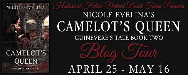 Camelot's Queen blog tour via HFVBTs.