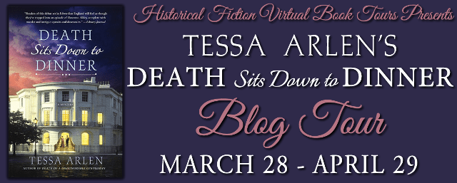 Death Sits Down to Dinner blog tour via HFVBTs