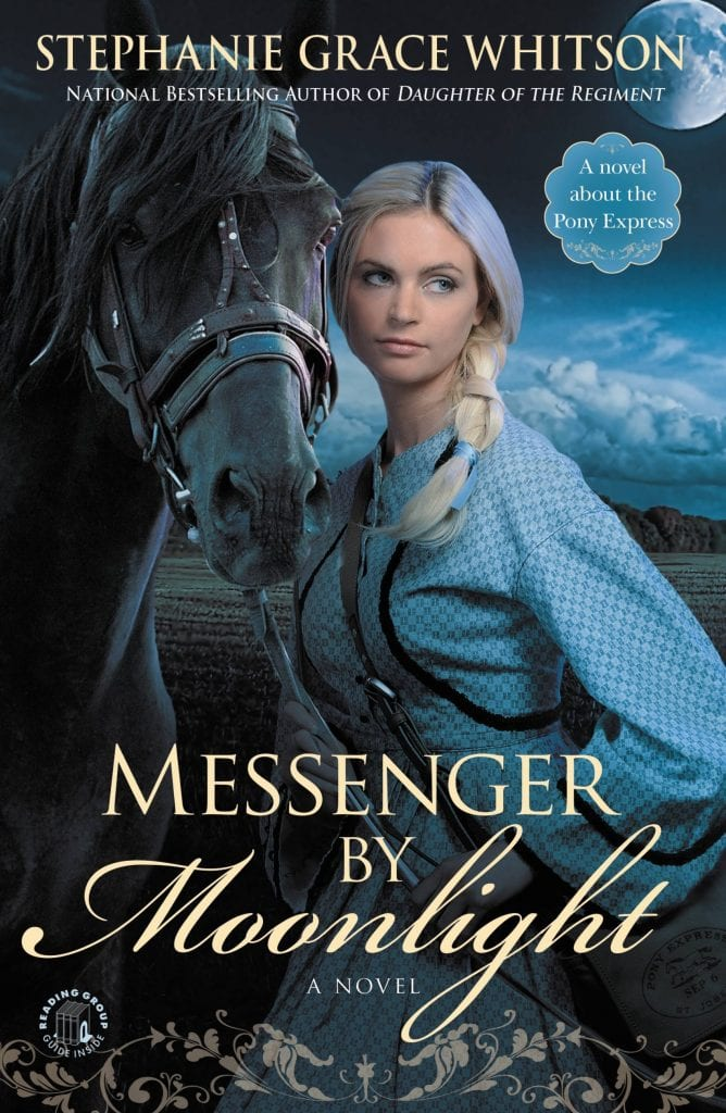 Messenger by Moonlight by Stephanie Grace Whitson