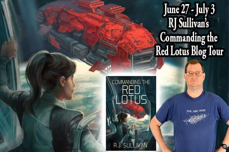 Commanding the Red Lotus blog tour by Tomorrow Comes Media
