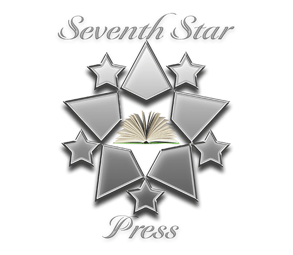 Seventh Star Press Logo badge provided by Seventh Star Press.