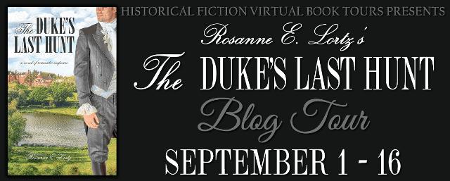 The Duke's Last Hunt blog tour via HFVBTs