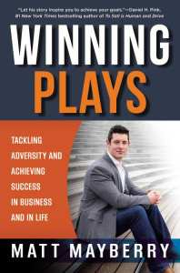 Winning Plays by Matt Mayberry
