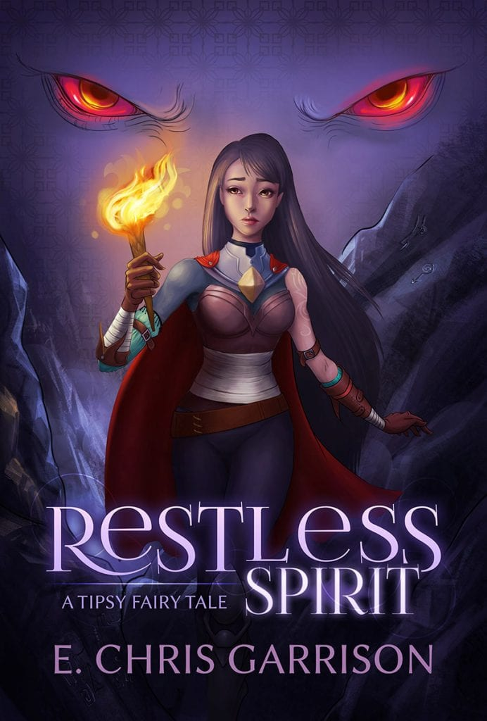 "Blog Book Tour | ""Restless Spirit: A Tipsy #fairytale"" by E. Chris Garrison I can seriously say, this is the only author who'd convince me I can handle reading Zombies!"