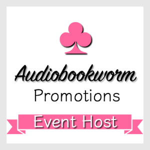 Audiobookworm Promotions Event Host badge provided by Audiobookworm Promotions