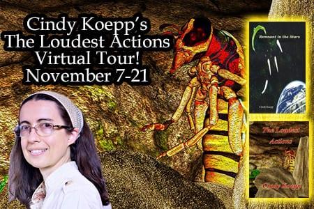 Cindey Koepp blog tour via Tomorrow Comes Media