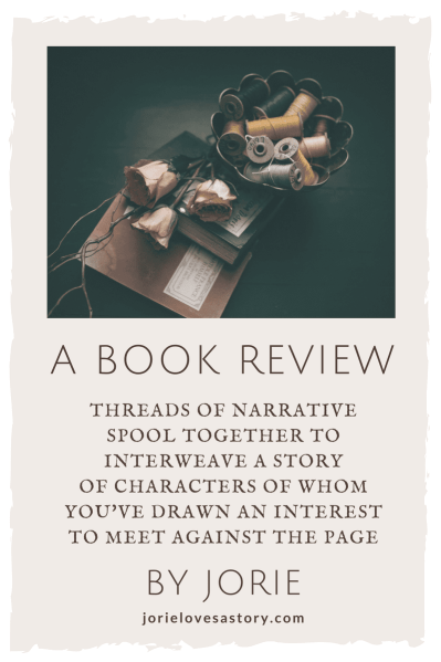 Book Review badge created by Jorie in Canva using Unsplash.com photography (Creative Commons Zero).