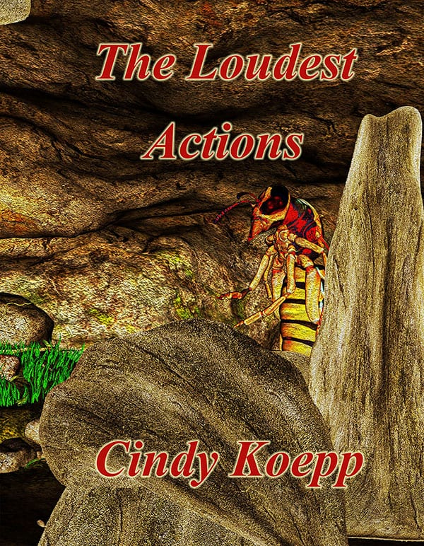 """Blog Book Tour   """"The Loudest Actions"""" (sequel to The Remnant in the Stars) by Cindy Koepp #IndieSciFi #RRSciFiMonth"""