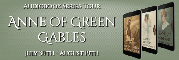 Anne of Green Gables audiobook tour via Audiobookworm Promotions