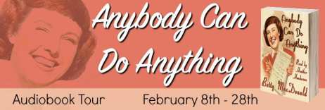 Anybody can do Anything blog tour by Audiobookworm Promotions.