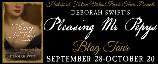 Pleasing Mr Pepys blog tour via HFBTs