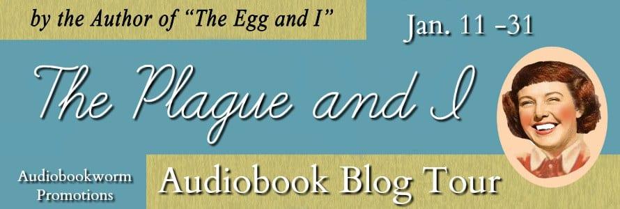 The Plague and I blog tour via Audiobookworm Promotions