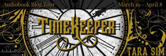 Timekeeper audiobook blog tour hosted by Audiobookworm Promotions