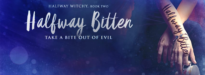 Halfway Bitten promo banner provided by Audiobookworm Promotions