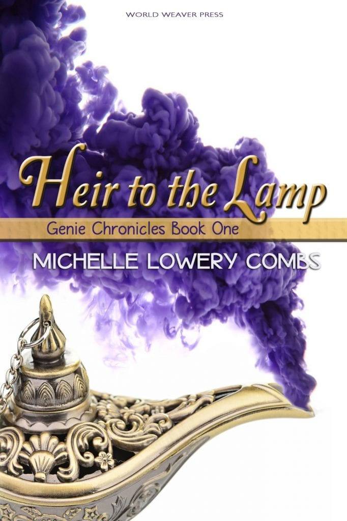 "#EnterTheFantastic this #WyrdAndWonder as #JorieReads | Book Review for ""Heir to the Lamp"" (Book One: Genie Chronicles) by Michelle Lowery Combs"