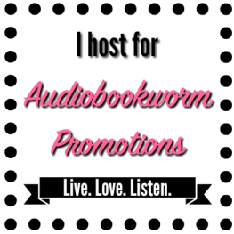 Host badge for Audiobookworm Promotions.