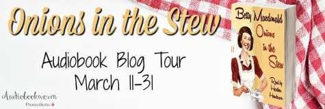 Oninons in the Stew audiobook blog tour via Audiobookworm Promotions