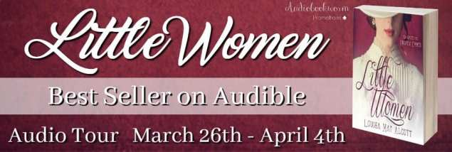 Little Women audiobook tour hosted by Audiobookworm Promotions