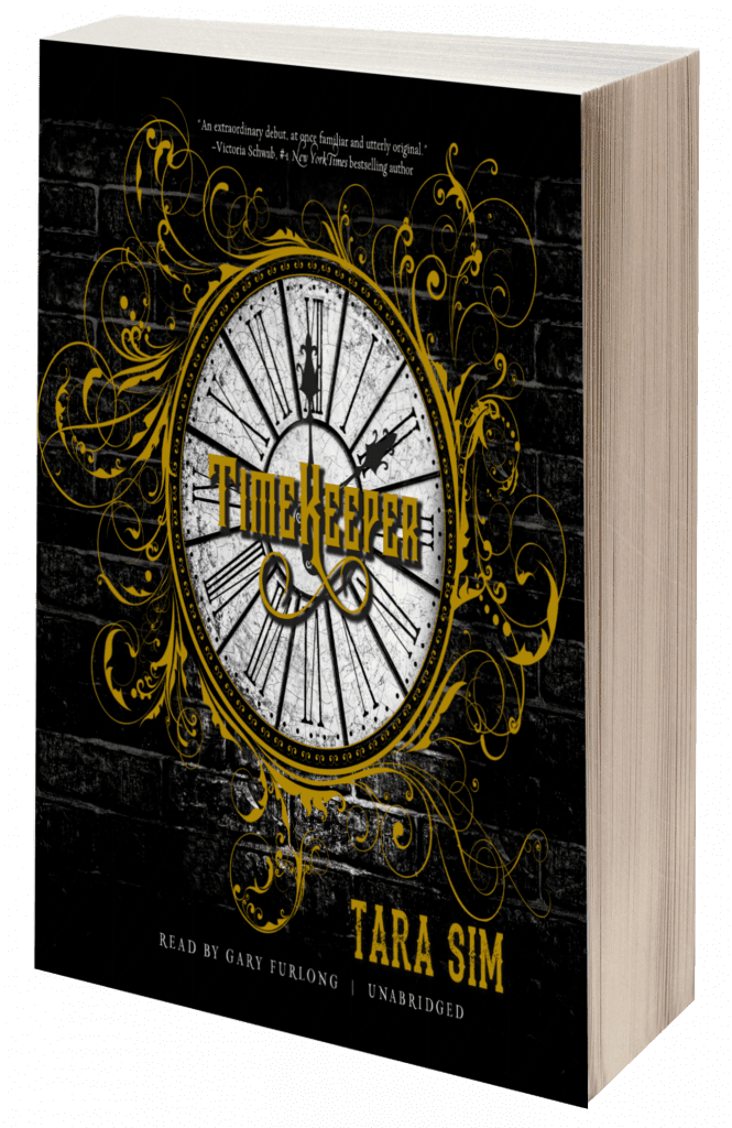 "Audiobook Review | ""Timekeeper"" Book No.1 of Timekeeper Trilogy by Tara Sim, narrated by Gary Furlong"