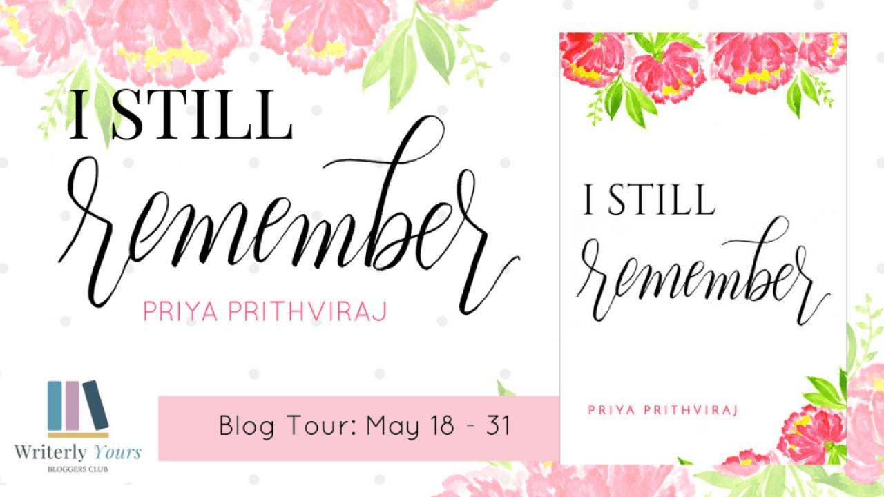 I Still Remember blog tour via Writerly Yours PR