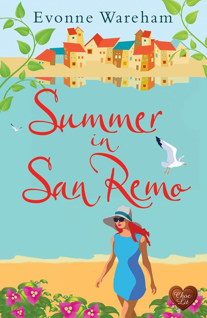 "Cover Reveal | A #ChocLit author switches from Rom Suspense to something a bit lighter: Evonne Wareham ""Summer in San Remo""!"
