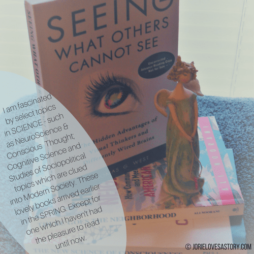 Non-Fiction from Prometheus Books bookmail. Book Photography Credit: Jorie of jorielovesastory.com. Photo edits and collage created in Canva.
