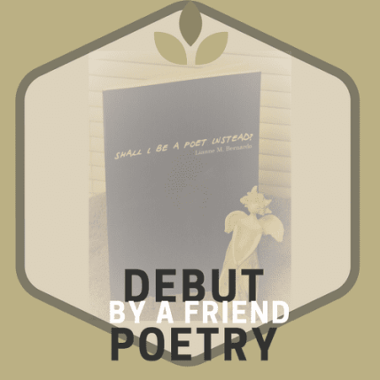 Shall I Be A Poet Instead. Book Photography Credit: Jorie of jorielovesastory.com. Photo edits and collage created in Canva.