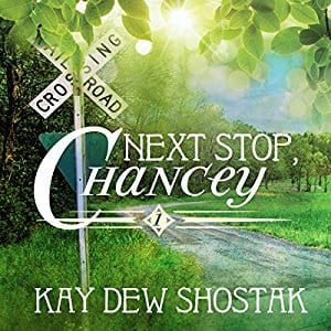 "Audiobook Blog Tour | ""Next Stop Chancey"" by Kay Dew Shostak (narrated by Suzanne Barbetta) This is Southern Contemporary Fiction I love finding as it's written in the same vein as Sherryl Woods's The Sweet Magnolia's series!"