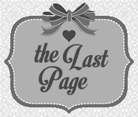 The Last Page blog badge used with permission of the blogger (Jamie).