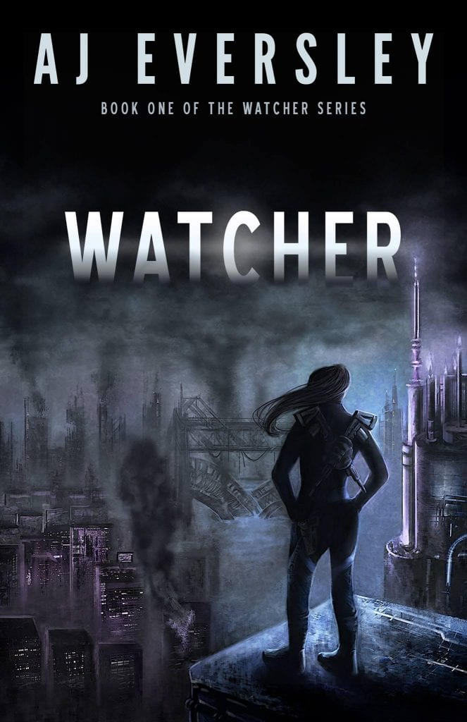 "Blog Book Tour | ""Watcher"" (Book One: The Watcher Series) by AJ Eversley Jorie re-attempts to insert herself into a Dystopian world."