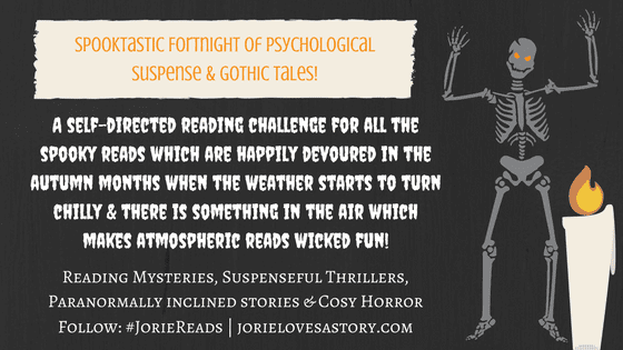 Spooktastic Fortnight banner created by Jorie in Canva.
