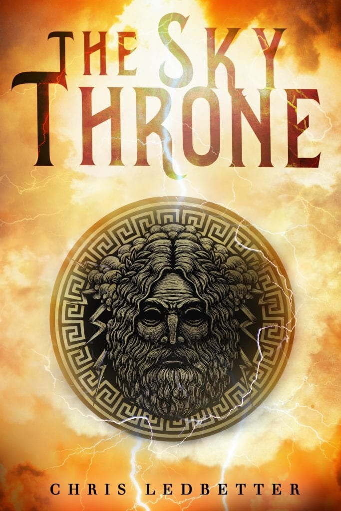 "Blog Book Tour | ""The Sky Throne"" by Chris Ledbetter A new approach to the back-story of #Zeus with a #GuestPost by the author explaining the 'Sky Throne'."