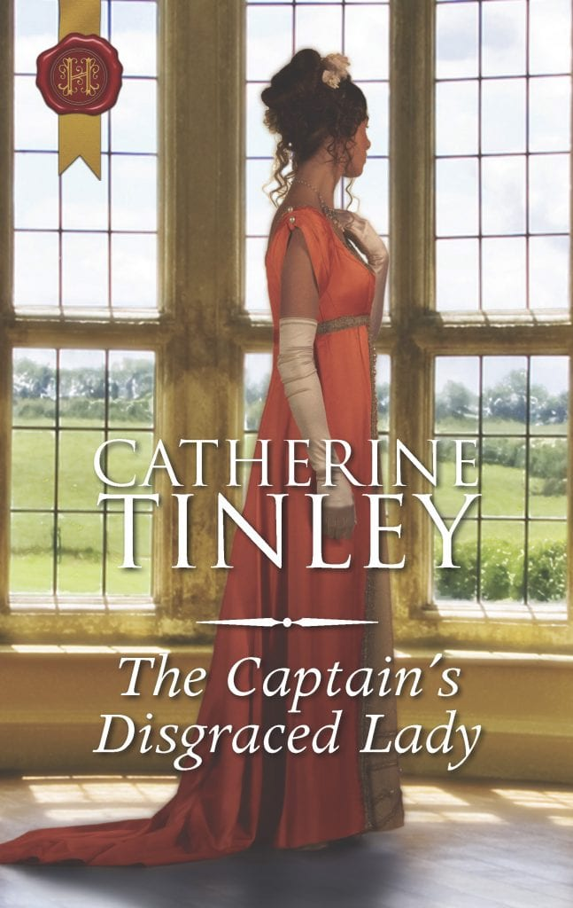 "Blog Book Tour | #JorieReads her first Mills & Boon #Regency #HistRom with ""The Captain's Disgraced Lady"" by Catherine Tinley"