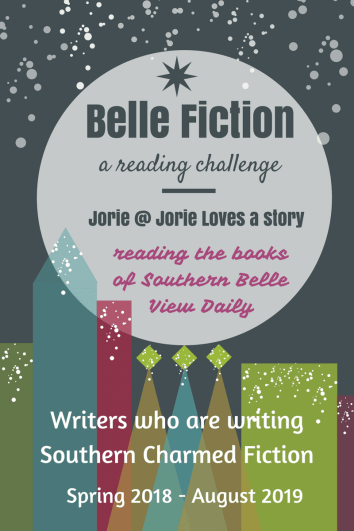 Belle Fiction Reading Challenge banner created by Jorie in Canva.
