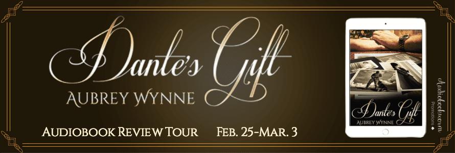 Dante's Gift (audiobook) blog tour via Audiobookworm Promotions