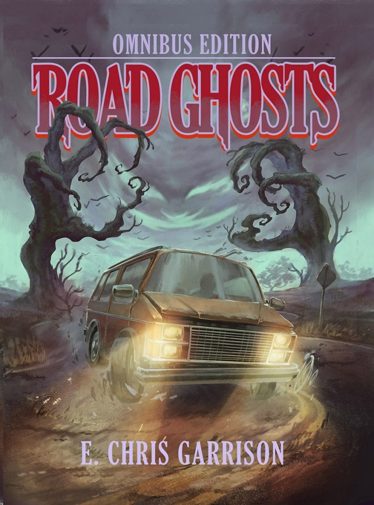 "Blog Book Tour | ""Road Ghosts: Omnibus Edition"" feat. Four 'Til Late, Sinking Down, Me and the Devil & the extra 'short story' Spectral Delivery by E. Chris Garrison Otherwise known as the Urban Fantasy author who Jorie loves reading due to her wicked sense of wit and wondrous bouts of humour!"