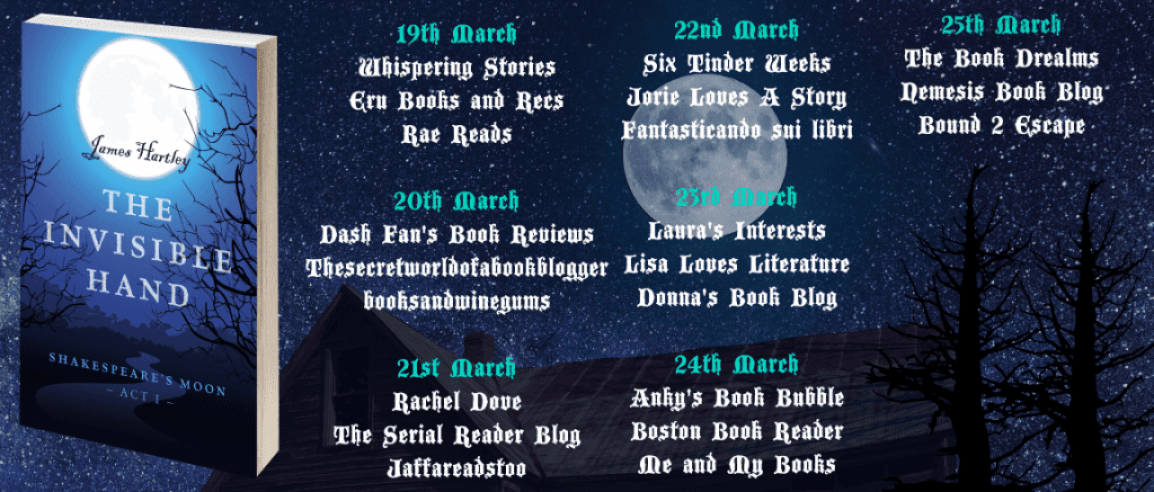 The Invisible Hand blog tour via Rachel's Random Resources
