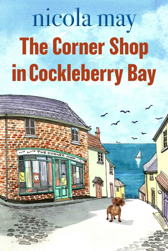 "Author Interview | Nicola May had me intrigued with ""The Corner Shop in Cockleberry Bay"" inspiring Jorie to ask her a few things about her writing life and the novel!"
