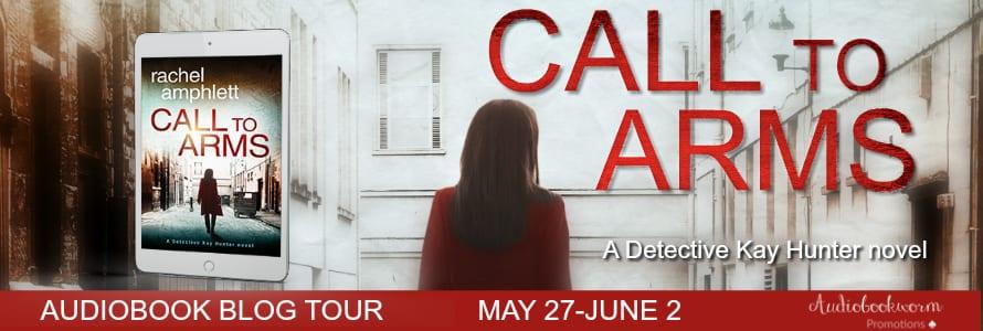 Call to Arms audiobook blog tour via Audiobookworm Promotions