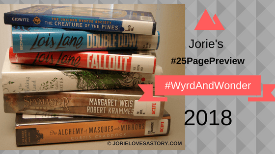 #25 Page Preview #WyrdAndWonder 2018 Photography Credit: Jorie of jorielovesastory.com. Photo edits and collage created in Canva.