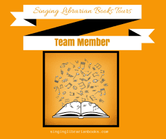 Singing Librarian Book Tours blog tour hostess badge is provided by SLB Tours and is used with permission.