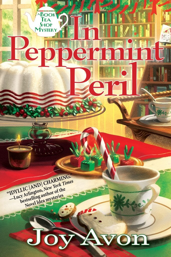 "A #cloakanddaggerchristmas Book Review | ""In Peppermint Peril"" (Book One: A Tea and Read Mysteries) by Joy Avon"