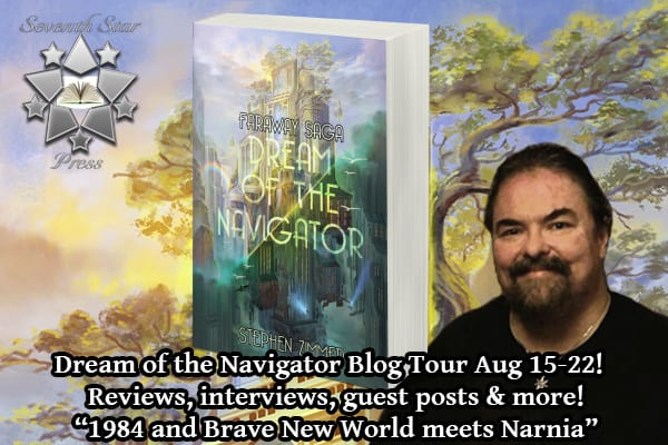 Dream of the Navigator blog tour via Tomorrow Comes Media