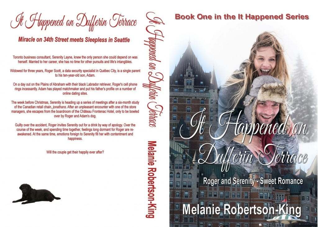It Happened on Dufferin Terrace by Melanie Robertson-King