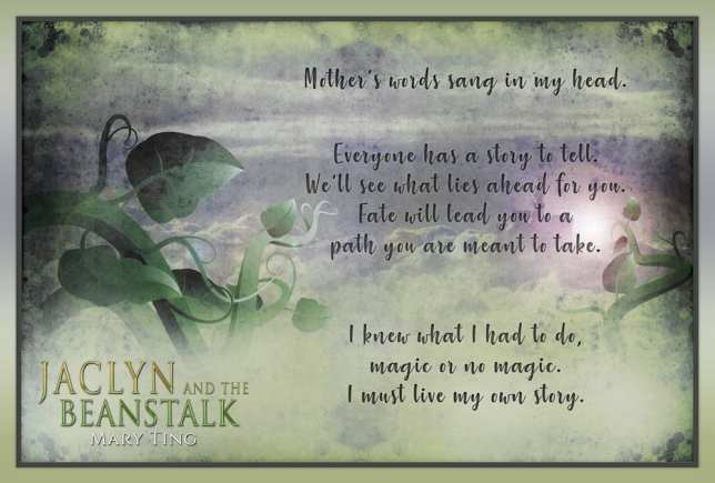 Jacyln and the Beanstalk promo banner provided by Xpresso Book Tours.